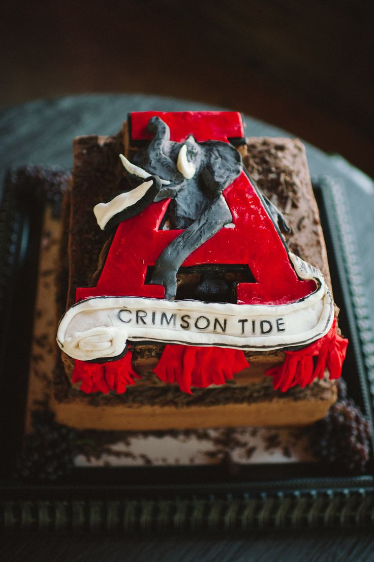 Alabama Birthday Cake Toppers
