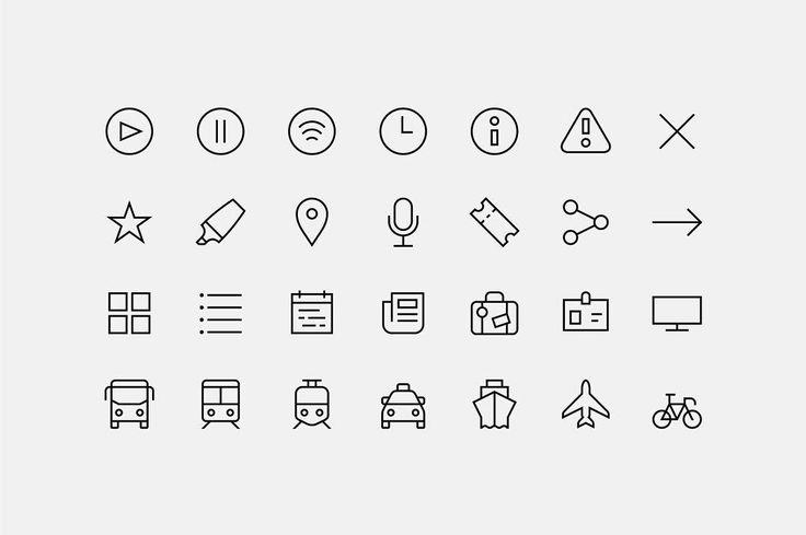 """Gefällt 99 Mal, 2 Kommentare - Forma (@formaandco) auf Instagram: """"Icons for @primavera_sound app. Project soon online. #formaandco #graphicdesign #barcelona #behance…"""""""
