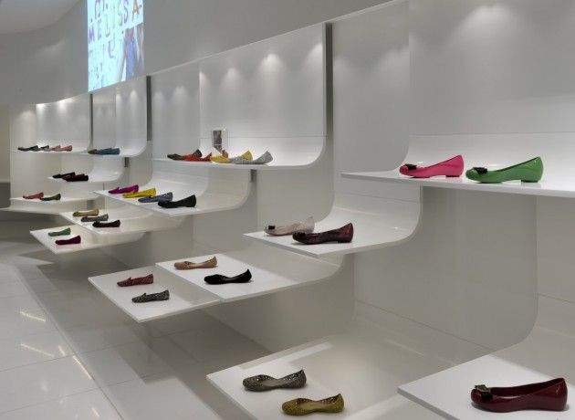 Melissa Shoe Store In Malaysia By Blu Water Studio   Pursuitist