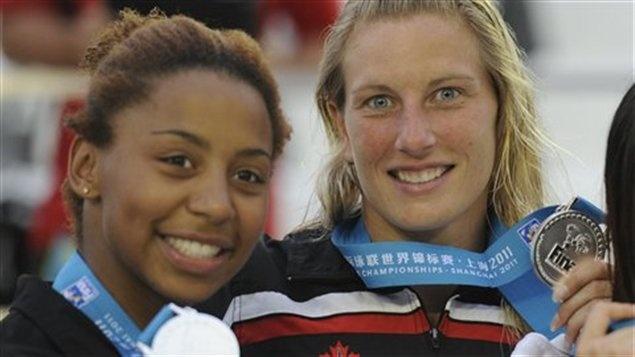 Plongeon - Les plongeuses de l'équipe canadienne ont quitté Montréal lundi soir en direction de Londres où elles représenteront le pays aux Jeux olympiques.