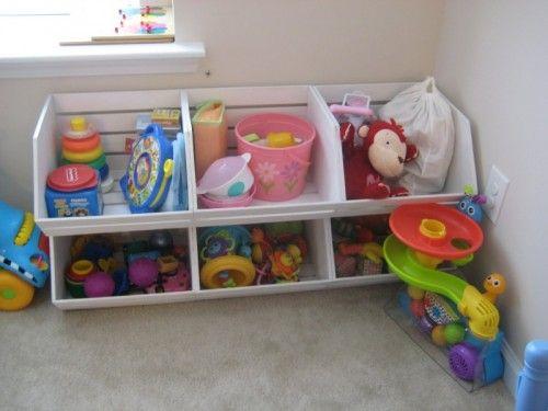 15 Cool DIY Toy Storage Ideas | Shelterness