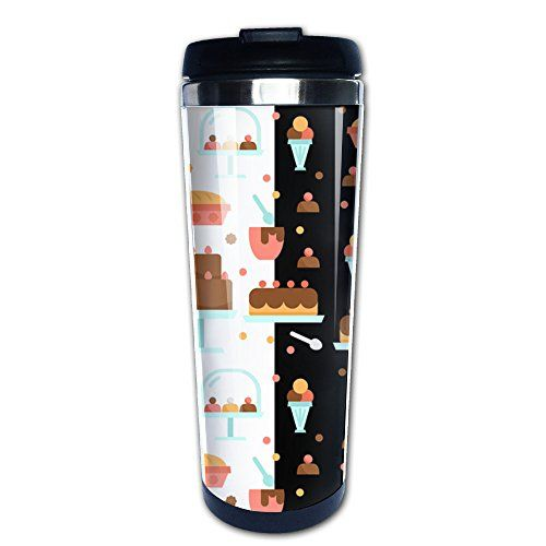 Cool Bakery Pattern Cool Travel Mug  Coffee Mugs ** Check out this great product.(It is Amazon affiliate link) #versagram