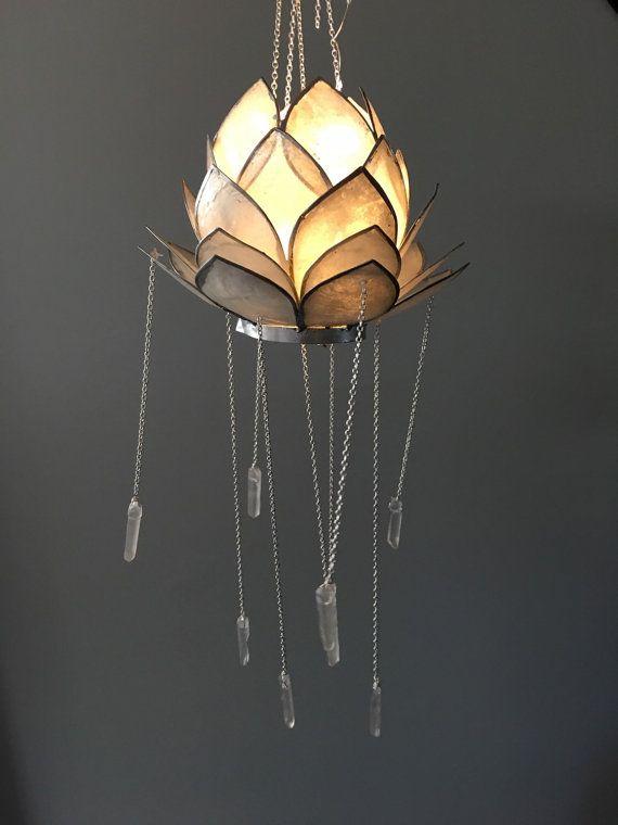 Crystal Mobile Bohemian Mobile Crystal Chandelier Lotus