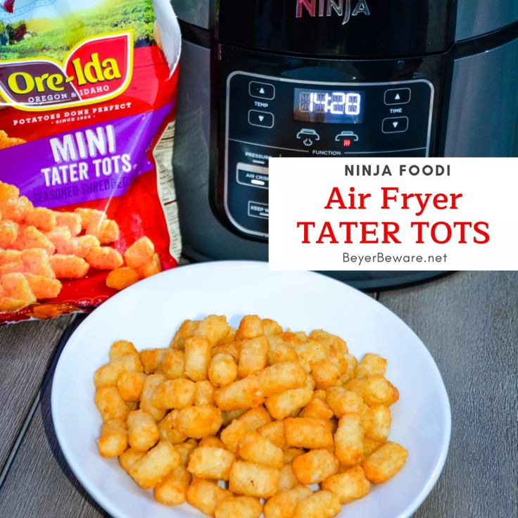 Air Fryer Tater Tots Tater tot, Tater, Foodie recipes