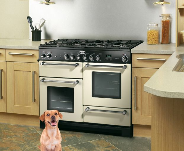 Rangemaster Kitchener 110 Pictured Here In A Wooden Kitchen With Granite  Worktops. This Range Cooker Has 6 Gas Burners, Two Ovens And A Separate  Grill ... Part 93