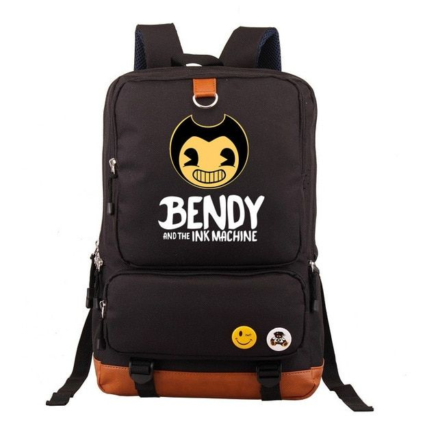 DIOMO 2018 Bendy and The Ink Machine Backpack for Children School Bags Cartoon G…