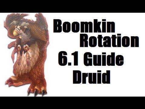6.1 WoD Balance Druid | PvE Rotation Guide