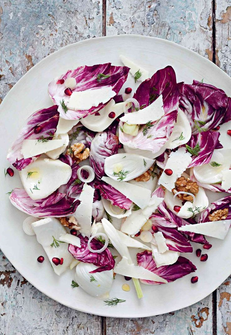 Walnut, fennel & pomegranate salad by Rebecca Seal from The Islands of Greece | Cooked
