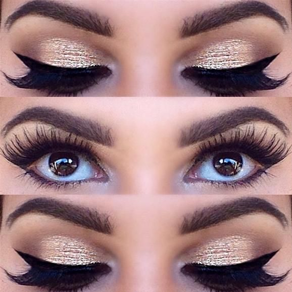 Sparkle and Wings by @glitz_n_glam | #eotd #inspiration #Pampadour www.pampadour.com
