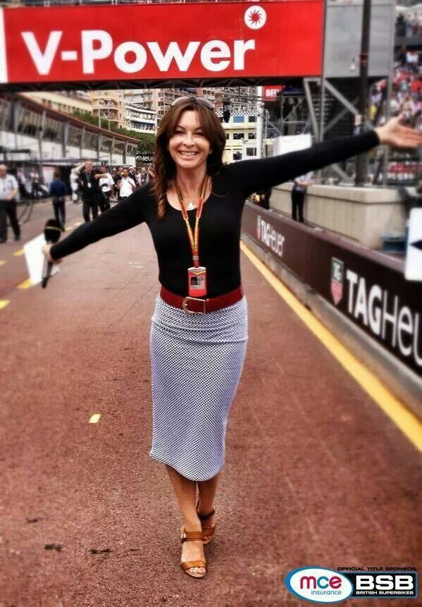 Suzi Perry!!  I love her so much. And she my age :-D