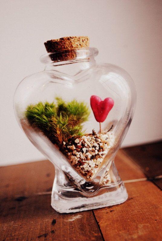 Heart in a bottle