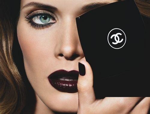 Chanel Beauty, Rouge Noir Lippie is the best