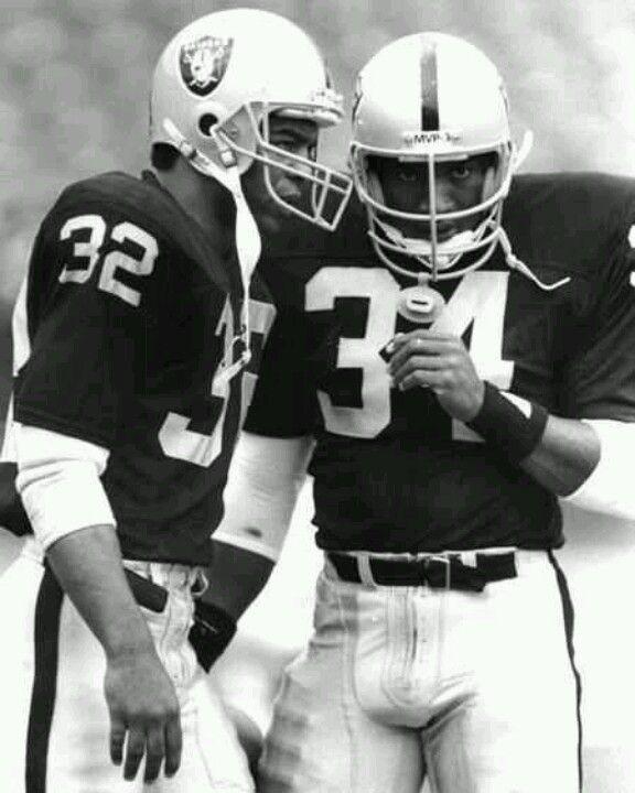 Marcus Allen & Bo Jackson