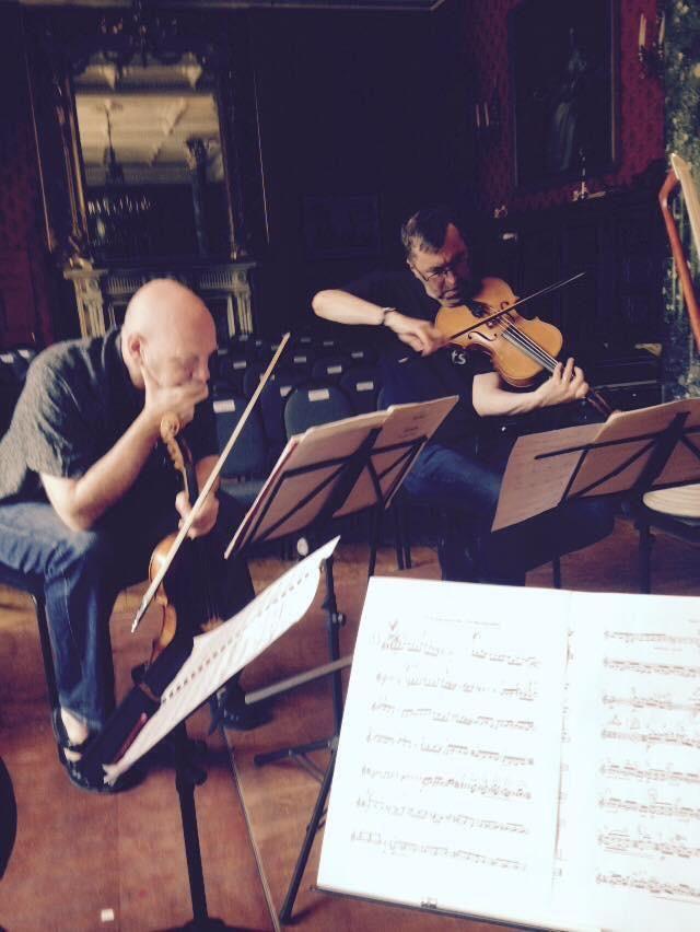 Irish premiere of Brett Dean's quintet #VanbrughQuartet @Westcorkmusic