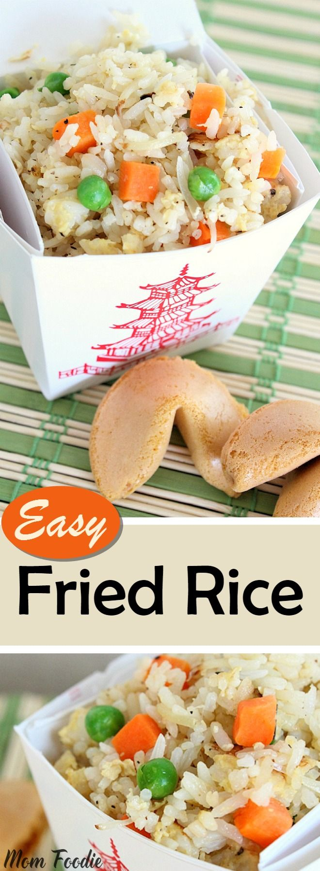 Easy Fried Rice Recipe - Easy to make right at home!