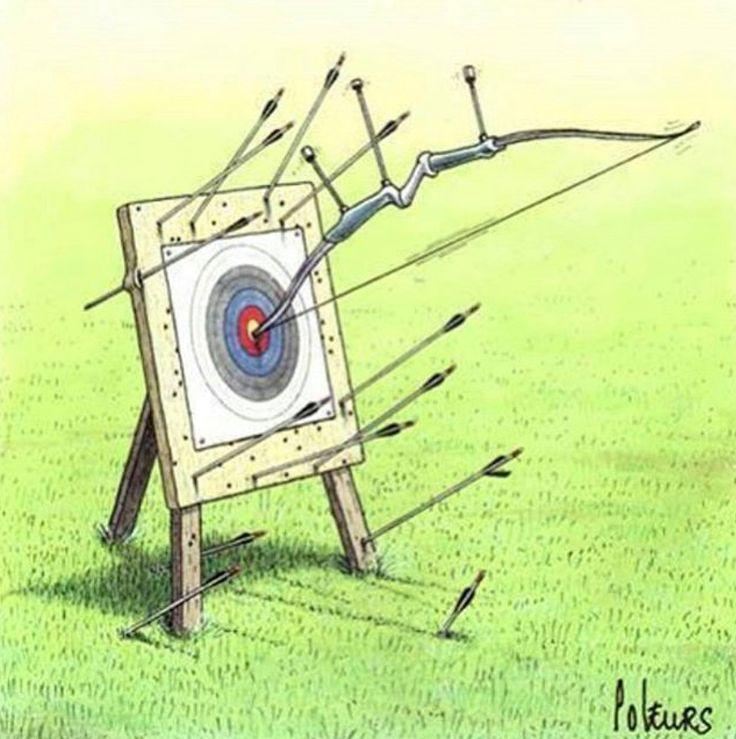 Hahaha! How my target faces often look...