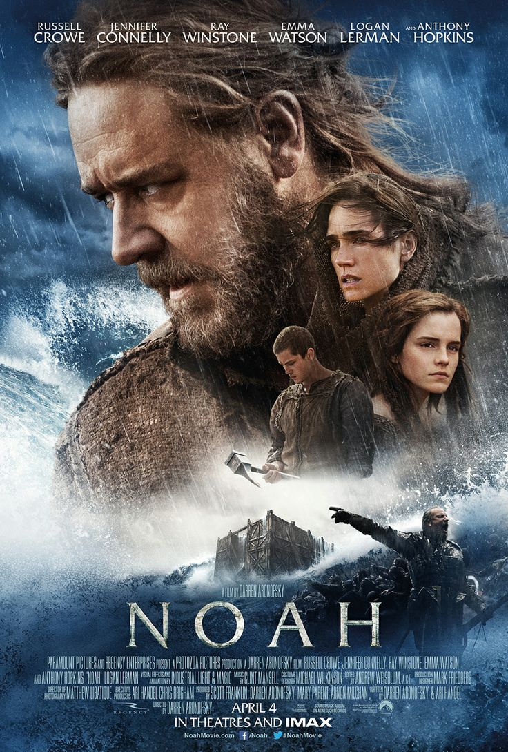 The all new poster for Noah! Starring Russel Crowe