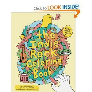 The Indie Rock Colouring Book I So Want This For Morrison