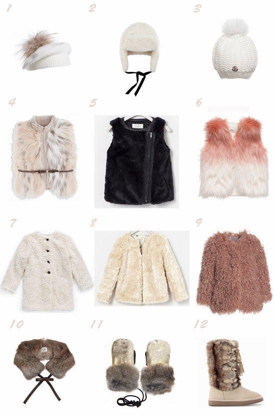 Selección prendas moda niña tendencia pelo otoño 2013
