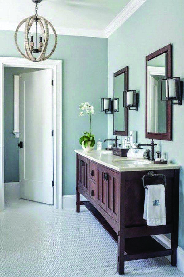 10 Paint Color Ideas For Small Bathrooms Small Bathroom Colors Bathroom Interior Design Bathroom Interior