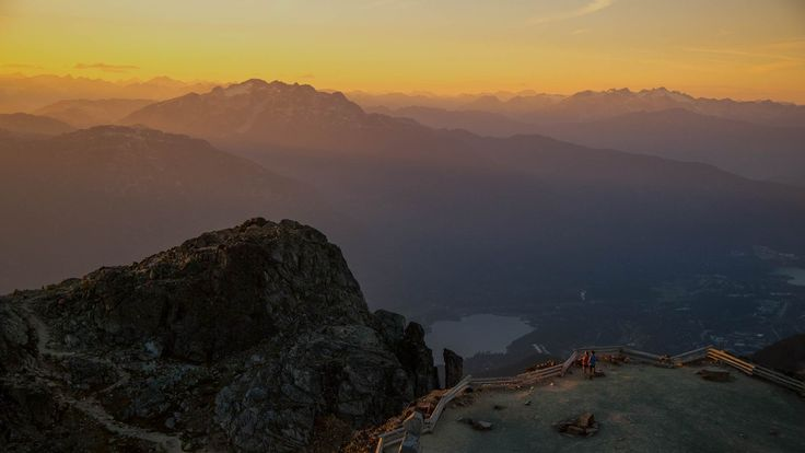 Top of Whistler Blackcomb, BC.