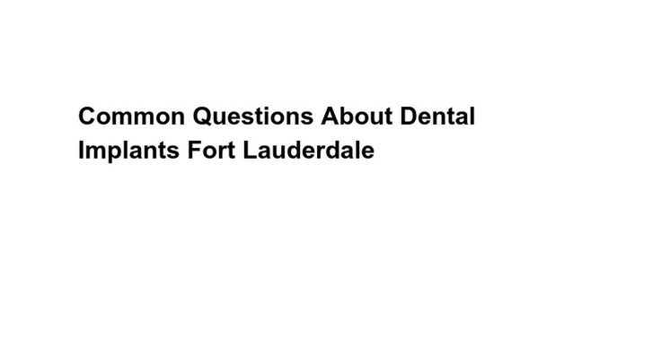 When an expert Dental In Davie dentist has proposed dentistry implants Nevada, then you shouldn't postpone the particular input. Lost a number of the teeth isn't just any make a difference connected with appearance,