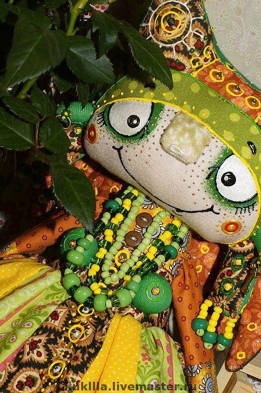 Купить Веснушка - кукла, авторская кукла, весна, текстиль
