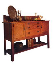 My favorite furniture: Stickley Mission!