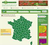 Sentiers en France randonnées pédestre de tous les départements de France région tracé des balades promenades virtuel des chemins parcours circuit avec Google earth aventure...