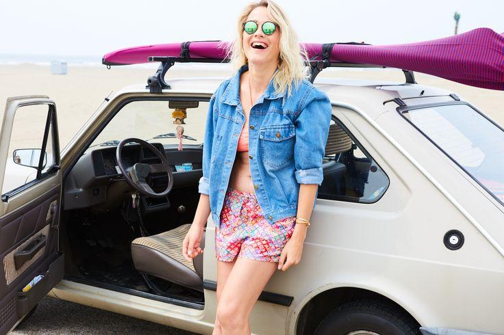 Tess Milne voor VIVA  Photo_Rachel Schraven, Aloha Beach Club, Wijk aan zee