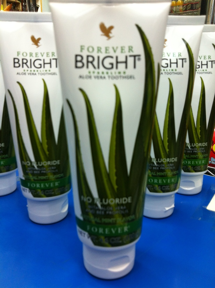 Forever bright tooth gel is more than a tooth gel, made of AloeVera and Bee Propolis, No Fluoride. Bright tooth gel from FLP for sparkling teeth and fresher breath.