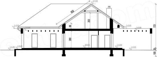 Inaltimi casa moderna fara etaj