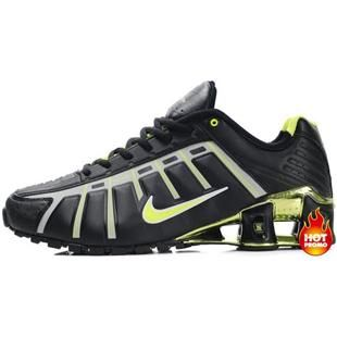 Mens Nike Shox NZ 3 OLeven Black Green
