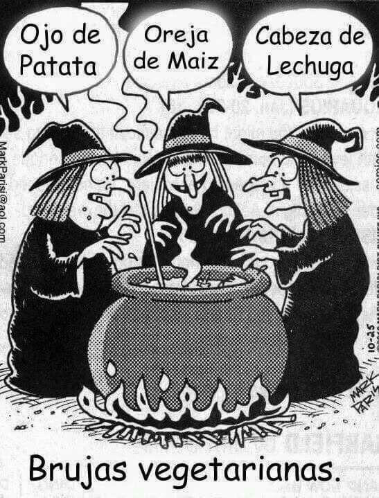Brujas Vegetarianas!!
