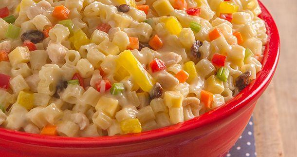 Chicken Macaroni Salad | Del Monte Philippines http://www.delmonte.ph/kitchenomics/recipe/chicken-macaroni-salad