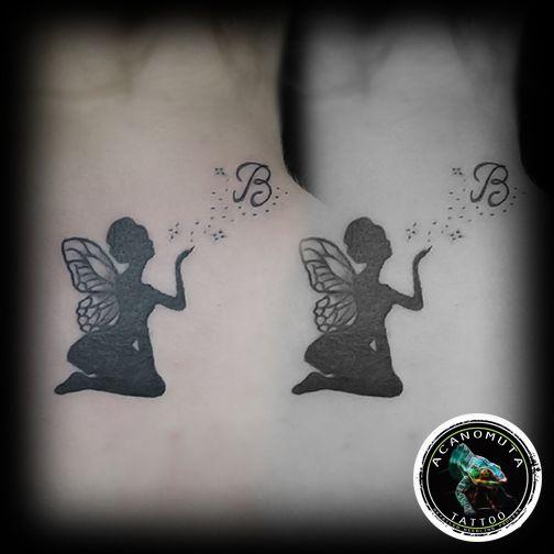 Blow all the stars out...νεραιδα τατουαζ απο τα πιο sexy tattoo για γυναικες www.acanomuta.gr