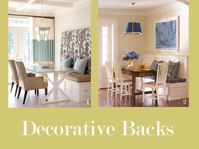 Banquette seating for your kitchen shelves larger and the back - Kitchen banquette seating ...