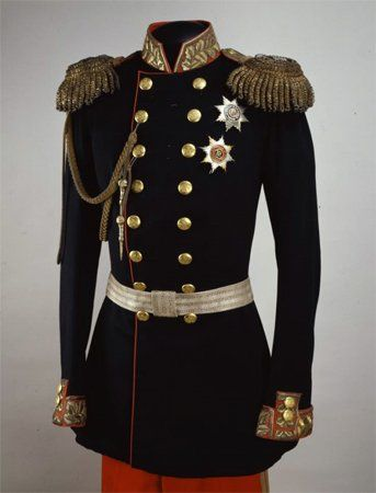 Coat of the coronation uniform of Emperor Alexander II | Russia | 1856 | Kremlin State Historical & Cultural Museum