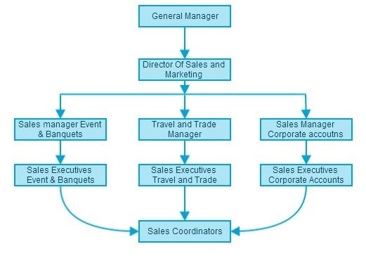 Sales and Marketing Department Organizational chart http\/\/www - blank organizational chart