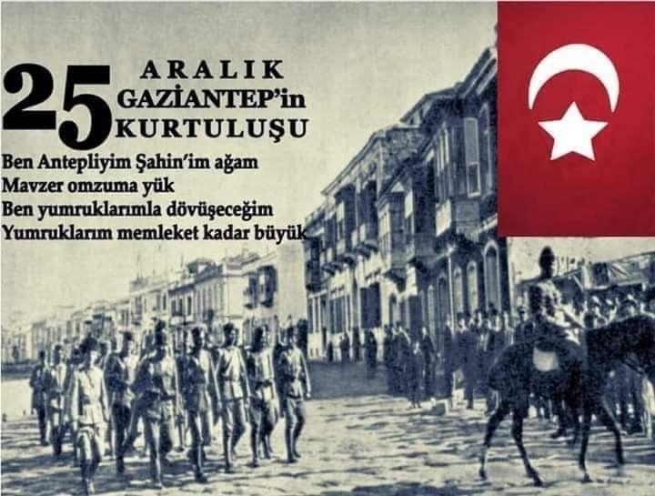 GAZİANTEP'in DÜŞMAN İŞGALİNDEN KURTULUŞUNUN 97. YIL DÖNÜMÜNDE BAŞTA GAZİ  MUSTAFA KEMAL ATATÜRK OLMAK ÜZERE TÜM ŞEHİTLERİMİZİ VE GAZİLERİM… | Omuz,  Insan, Türkiye