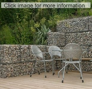 107 best gabion retaining walls images on Pinterest