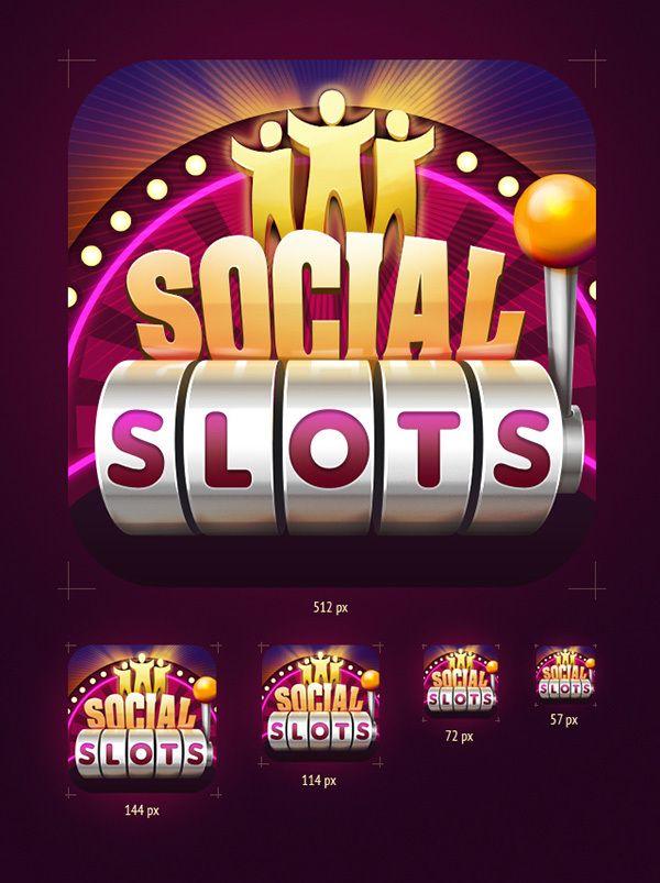 Casino by Zeniz & Social Slots on Behance