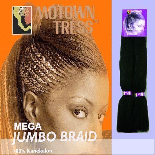 Motown Tress - Weave and Bulk - XJ-BRAID - Kanekalon Braiding Hair