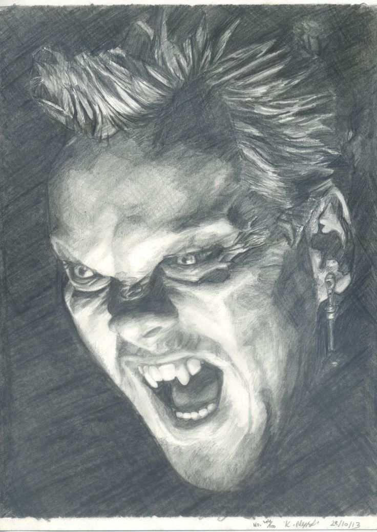 HAPPY HALLOWEEN!!!! 100 Pencil Portraits - Number 44 ...