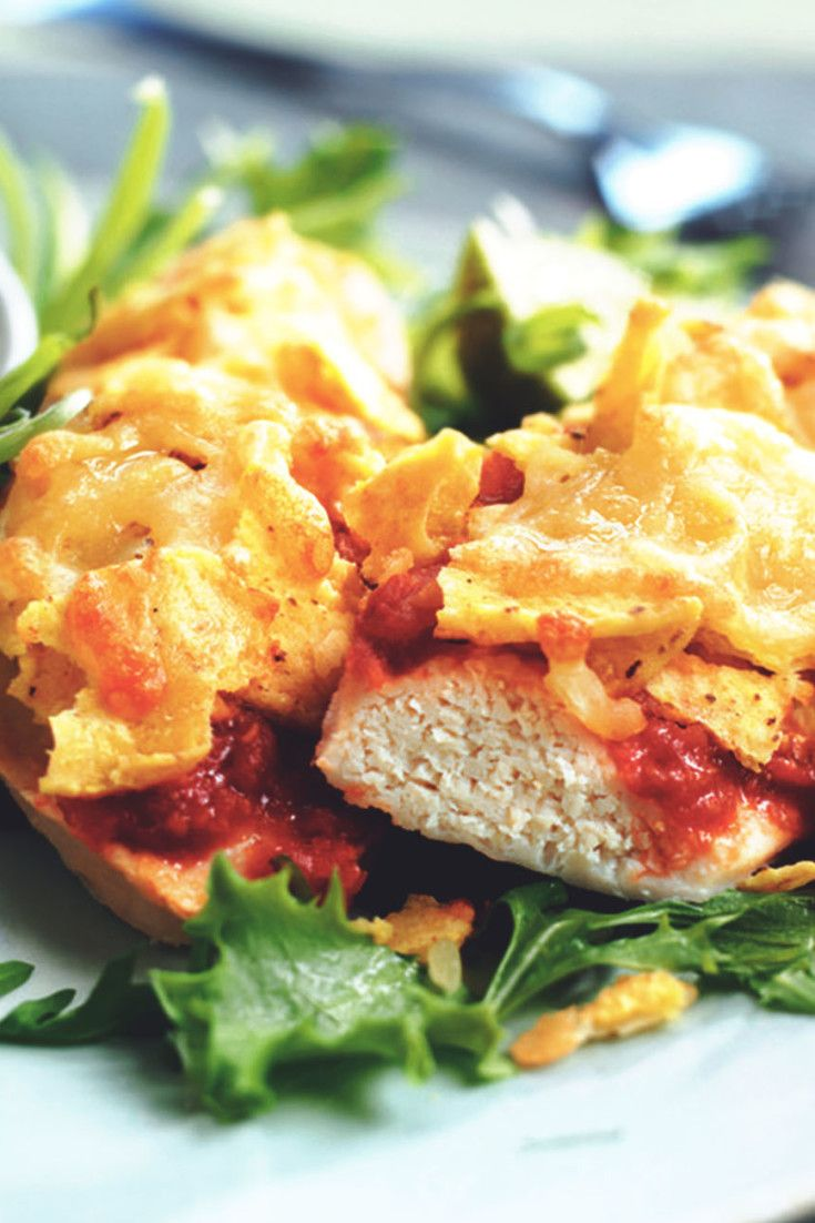 Get inspired and try this delicious Nacho Chicken and Salsa Recipe, using Quorn Meatless Chicken Cutlets. Enjoy meatless alternatives with Quorn