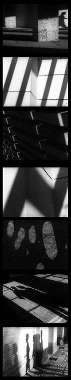 Jason Hansjürgen  Schatten / Ombres / Shadows / Sombras, 1960    [photograms from the original film by Hansjürgen]