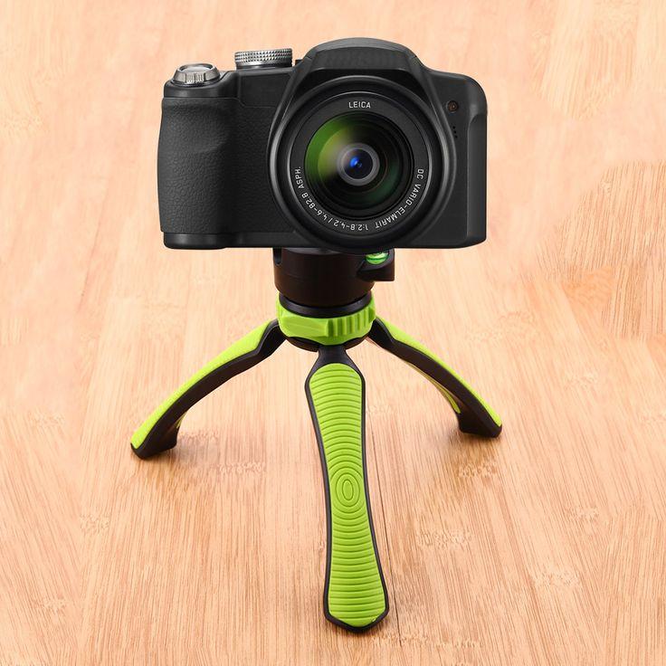 1 4 Screw Tabletop Mini Tripod Portable Camera Table Tripod with Ball Head for Gopro Camera. Click visit to buy #tripod