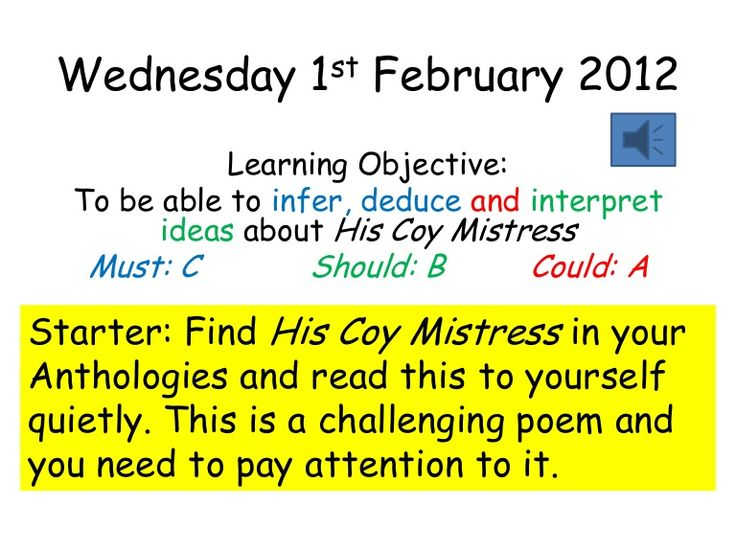 the flea and to his coy mistress essay Published: mon, 5 dec 2016 in the poem 'to his coy mistress' the speaker carefully tells a subtle and valid argument as to why the woman or his addressee should be sexually attracted to him.