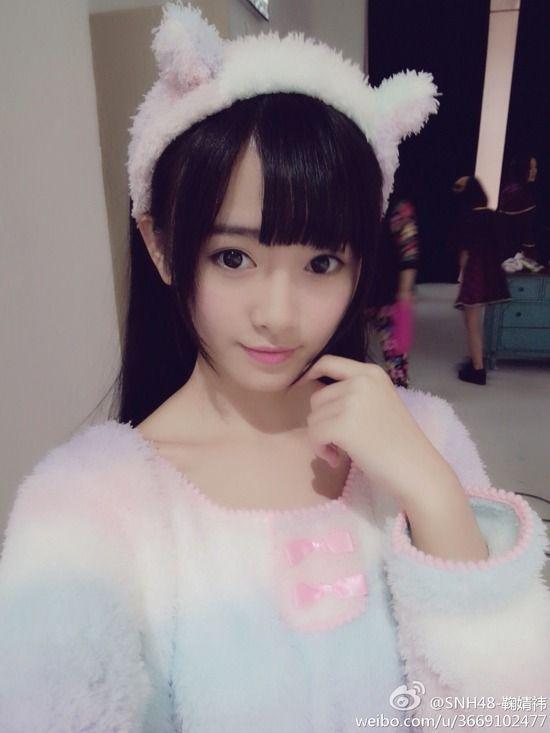 SNH48 鞠婧禕(キクちゃん)画像