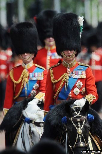 Trooping the Color: Colors London